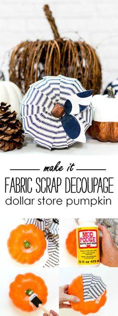 Dollar Store Pumpkin