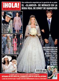 El 'glamour' de Mónaco en la boda de Ernst de Hannover