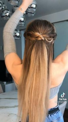 Easy Hairstyles For Long Hair, Braided Hairstyles, Wedding Hairstyles, Hairstyles For Winter, Easy Hairstyle Video, Basic Hairstyles, High Ponytail Hairstyles, Super Easy Hairstyles, Travel Hairstyles