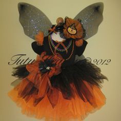 Gothic Fairy Tutu Set and Top Black Orange: http://tutuheaven.com/category_156/Gothic-Girl-Fairies.htm