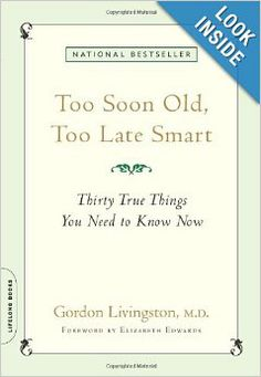 This one I stole from my husband's collection but I read it every year now.  It really does have thirty things you need to know now.