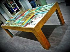 4x8 table for clothing store.