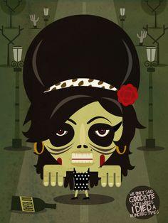 Amy Winehouse zombie