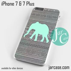 Cute Aztec Elephant Phone case for iPhone 7 and 7 Plus