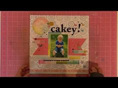 Mind the Scrap Kill a Kit and Layout share August 2016 Scrap, Mindfulness, Layout, Kit, Crafty, Videos, Cover, Frame, Youtube