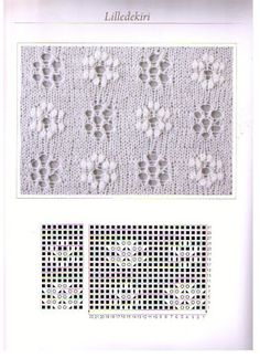 Estonian Lace ~~ Don't know what the name means in Estonian but it is a combination of eyelet daisies and nupp daisies. Веб-альбомы Picasa