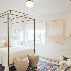 bedroom inspo - hanging chair