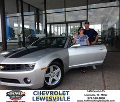 #HappyAnniversary to Mary Dowelling on your 2012 #Chevrolet #Camaro from Eric Tanner at Huffines Chevrolet Lewisville!