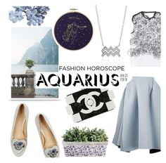 """""""Fashion Horoscope - Aquarius"""" by kelly-m-o ❤ liked on Polyvore featuring Chanel, Charlotte Olympia, Maticevski, Issa and BERRICLE"""