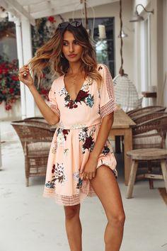 Feeling It Lately Dress Pink