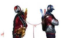 Skt T1 Zed Tpa Shen Skin Art League of Legends Wallpaper