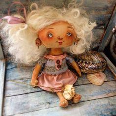 Ангел Танюша!#ангелочек #кукларучнойработы #оленавербець #творческиймомент #деньангела