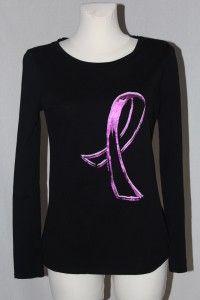 Czarna bluzka z długim rękawem - HEPIKA   Dłuższa bluzka damska marki George, używana, stan bardzo dobry, rozmiar z metki - 40.