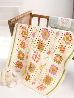Posy Granny Baby Blanket in Caron Simply Soft and Simply Soft Collection - Downloadable PDF. Discover more patterns by Caron at LoveKnitting. The world's largest range of knitting supplies - we stock patterns, yarn, needles and books from all of your favo