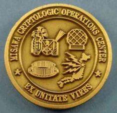 Misawa Challenge Coin reverse
