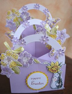 Cascading Easter card No. 2! by: michele1