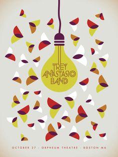 Dan Stiles    GigPosters.com - Trey Anastasio Band