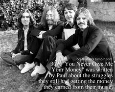 Beatles Facts! Foto Beatles, Beatles Funny, Les Beatles, John Lennon Beatles, Beatles Photos, Rush Movie, I Movie, Best Rock Bands, Cool Bands