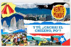 """Y TÚ, ¿CACHAI EL CHILENO, PO'? En esta educativa y entretenida crónica personal, Iris nos invita a recorrer el arduo camino del aprendizaje del """"español chileno"""". #Chile #SpanishSlang"""