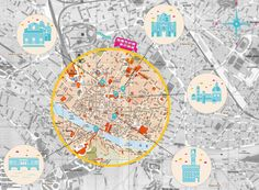 Florence map by Maxime Lelasseux