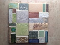 Modular Four Piece Mosaic Made to Order by persimmonstreet on Etsy
