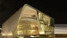 China Corporate United Pavilion EXPO 2015 Milan - Architectural lighting iGuzzini #iGuzzini #Lighting #Facade
