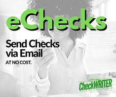 eCheck - Send and Request Checks By Email - No transaction or per Fee - I Think it`s very good, it`s excellent service, I recomend it Clear Check, Blank Check, Writing Software, Accounts Payable, Custom Website Design, Online Checks, Business Checks, App Development Companies, Check Printing