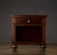 camden nightstand from restoration hardware
