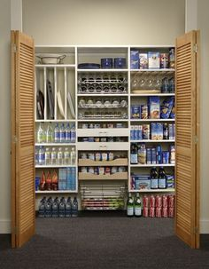 organized pantry...exciting! :)