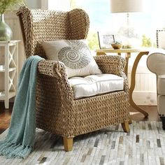 Graciosa Wing Chair - Natural