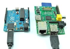 Difference between Arduino and Rasberry Pi repinned from an excellent Pinterest board called STEM for Kids by VA Geek Mom