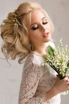 Wedding Hairstyles Completed With Flowers picture 3