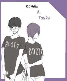 Kaneki x Touka //TouKen   My edit, but not my art ^^