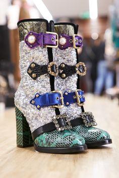 Sfilata Donna Dolce & Gabbana Autunno/Inverno 2017-18: Backstage | Dolce & Gabbana