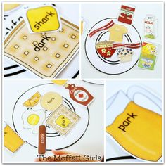Read and sort a Word Family breakfast! (Ready2Read)