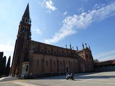 Prima tappa,chiesa di S.Cristina al Tiverone,Quinto di Treviso,non molto frequentata...