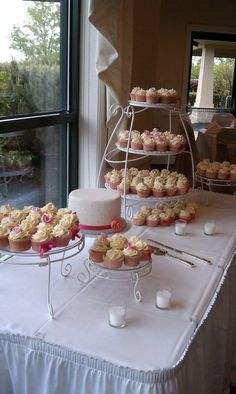 Dessert Table Wedding Pink