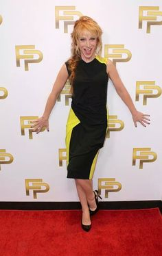 Best Dressed: Kathy Griffin #fashionpolice #KathyGriffin #style #savingforchanel