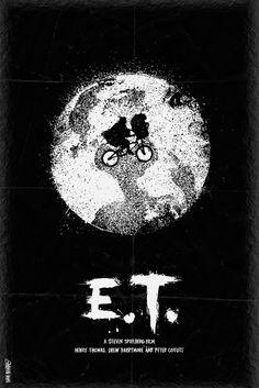 E.T. - movie poster - Daniel Norris