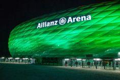 Allianz Arena for St. Fc Bayern Munich, Football Stadiums, European Football, Eurotrip, Bavaria, Trip Planning, Places Ive Been, Cinema, Jasper