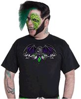 Fly By Nite T-Shirt  #goth #gothic #punk #punkrock #rockabilly #psychobilly #pinup #inked #alternative #alternativefashion #fashion #altstyle #altfashion #clothing #clothes #vintage #noir #infectiousthreads #horrorpunk #horror #steampunk #zombies #burningmanclothing #shrine clothing