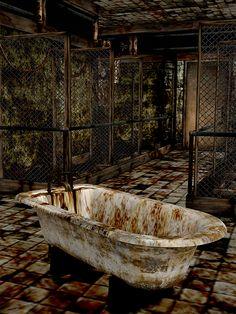 Silent Hill 3 - Hilltop Bathtub Otherworld (xps) by Mageflower