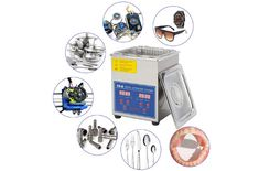 CO-Z Professional Industrial Commercial Ultrasound Cleaning Machine Radiator Fan, Digital Timer, Old Tools, Clean Machine, Plastic Molds, Keep Jewelry, Cleaning Solutions, Water Tank, Ultrasound