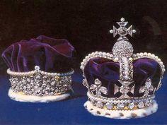joyaux de la couronne d'angleterre  couronnes avec le koh i noor