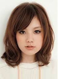 Image result for short hair styles for round face