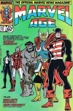 Marvel Age #marvel #comics