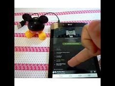 Teste da caixinha de som USB do ovo de páscoa surpresa Mickey Mouse da N...