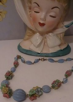 Vintage Czech Glass Quality 1930's Necklace Amazing Workmanship £30 + £2.50 secure p&p