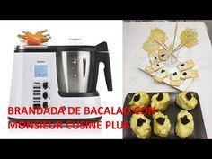 BRANDADA DE BACALAO CON MONSIEUR CUSINE PLUS #LIDL - YouTube