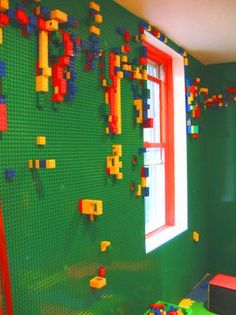 Lego wall - for kids, or my husband?